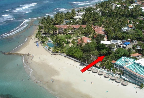 Cabarete Beach Hotel With 2 Buildings