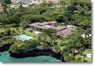 an executive vacation oceanfront villa for rent