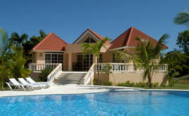 holiday cottages in the island of Dominican Republic