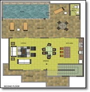 villa layout blueprint ref 001