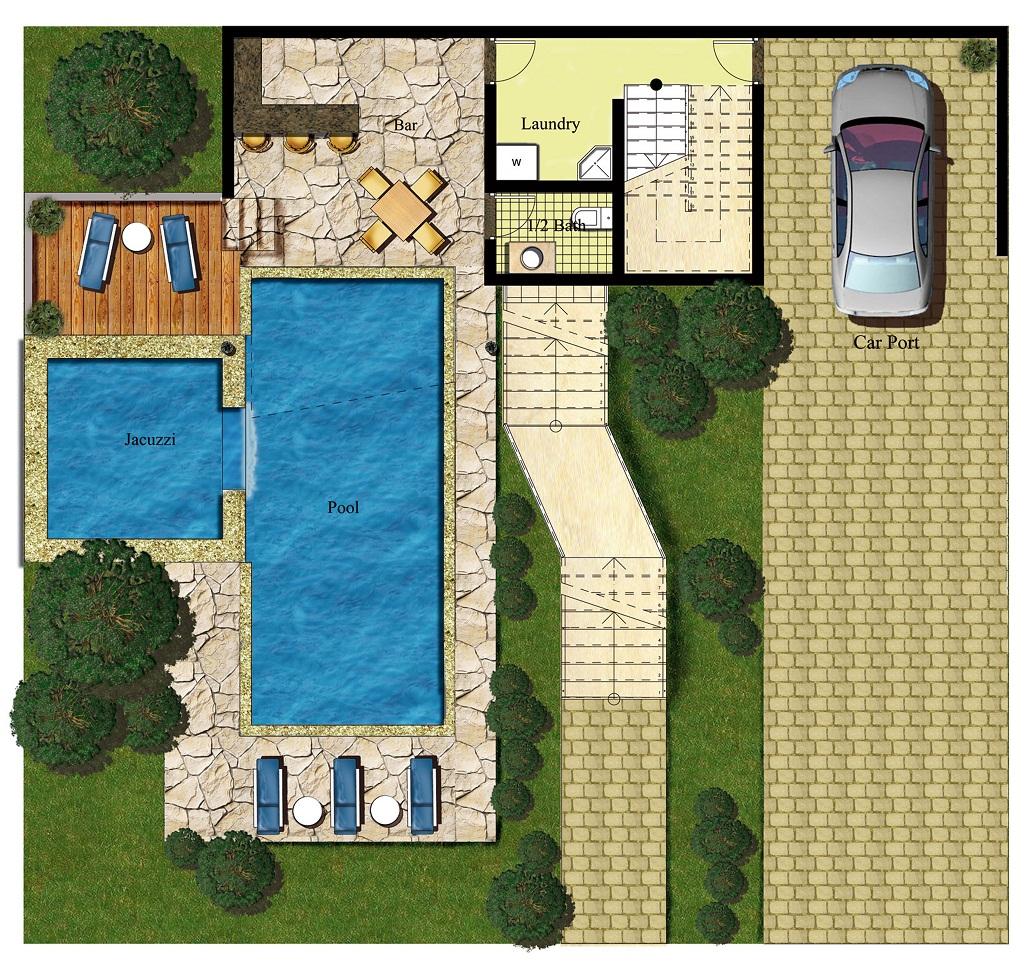 Villa Site Plan Design: Contemporary Design Home For Sale In Sosua, Dominican