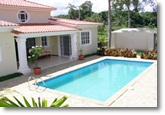 beautiful villa with swimming pool for rent long term in Sosua