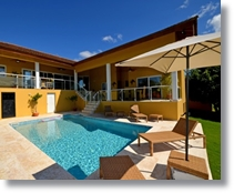 The 3 bedroom home in Sosua with European finish and natural scenery