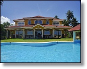 beach villa for sale in secluded area of cabarete