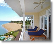 beach front condo with awesome vistas of the beach and ocean in Sosua
