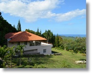 4 bedroom mountain house with ocean view in Puerto Plata