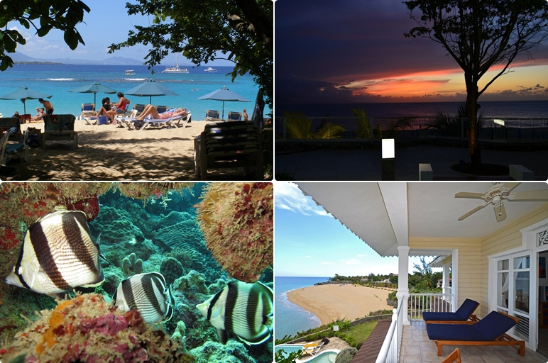 a mix of pictures showing the best of Sosua