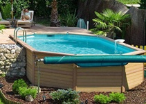 Elevated Pool types of villas swimming pools