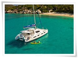 catamaran rental with 3 cabins for sailing and fishing in Sosua, Puerto Plata, Cabarete and Cofresi