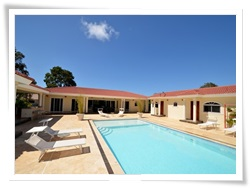 six bedroom villa with private pool in Sosua