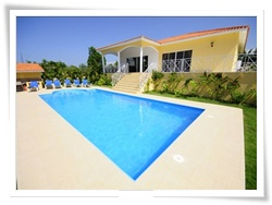 caribbean home for rent in Sosua Dominican Republic