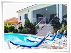 new villa rental in Sosua with 2 bedrooms and free shuttle service