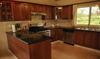 the kitchen can be custom fitted in every aspect