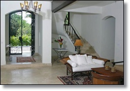the villa has spacious interiors for the disabled