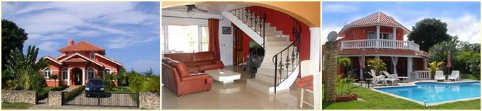 rental villa with pool