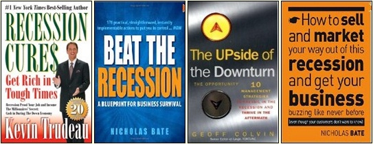 Best selling books on recession