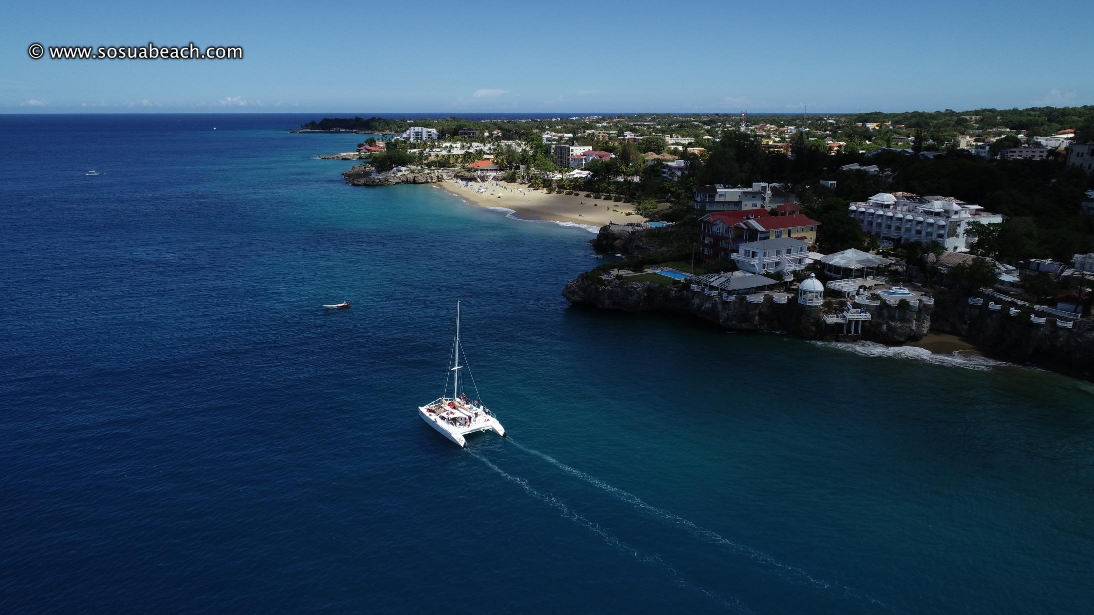 Alicia Beach and Catamaran