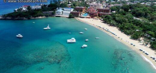 Aerial Photos of Sosua Beaches