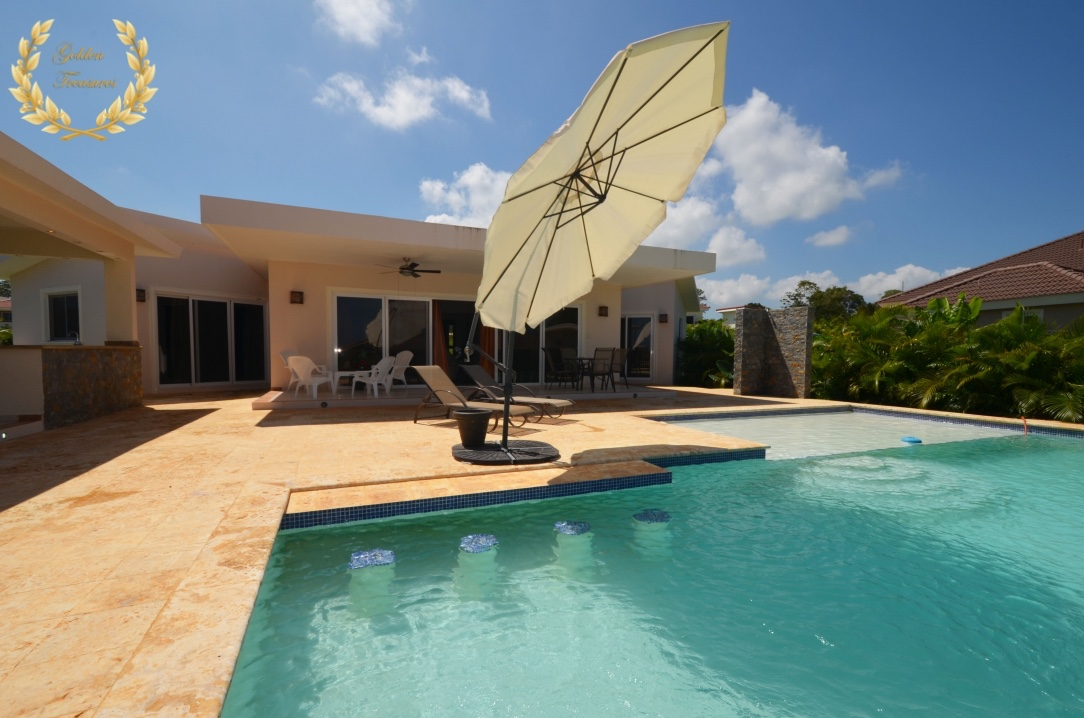 3 Bedroom Rental Villa for Family Vacations in Sosua