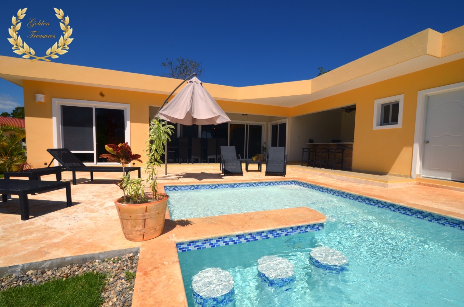 New 3 Bedroom Rental Villa