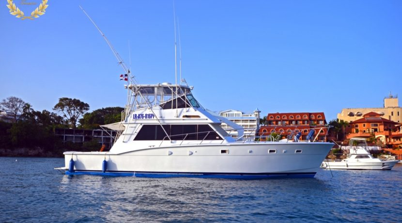 Fishing yacht in Sosua