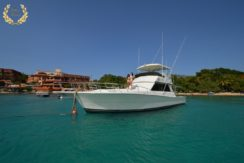 Yacht rental in Sosua, this viking is 48 feet