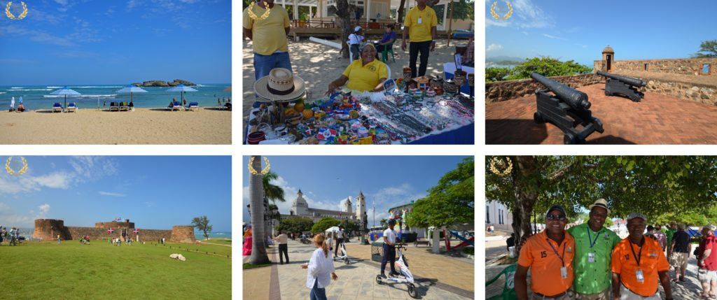 collage of Puerto Plata, done in 2016