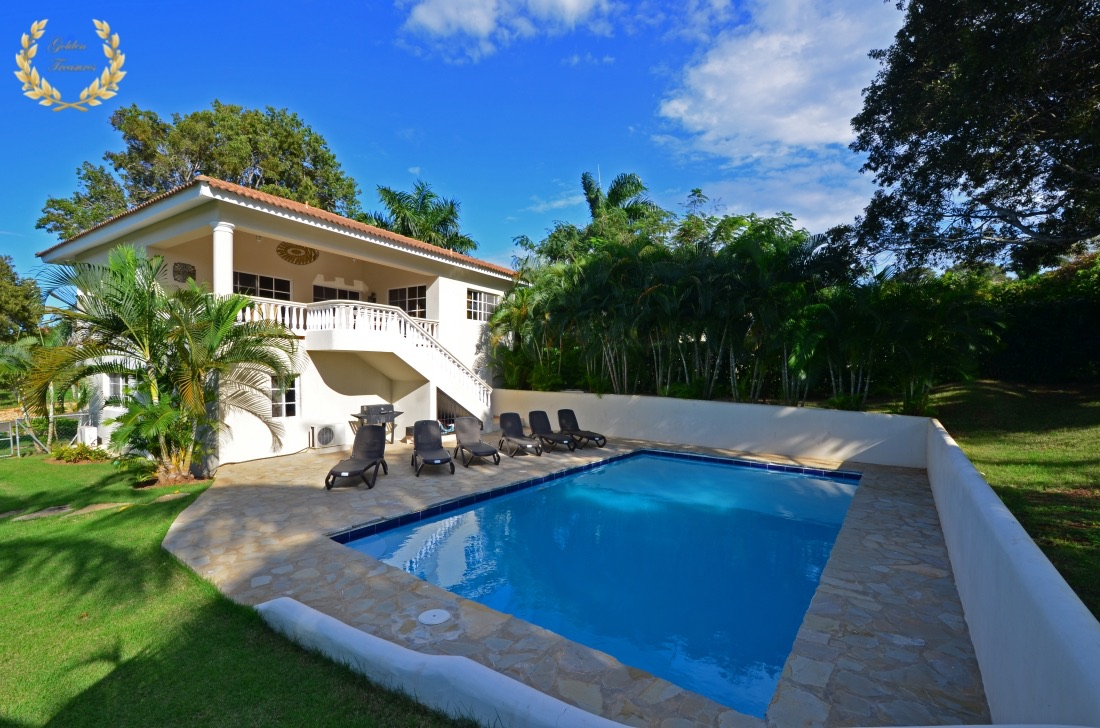 Villa Rental in Sosua With 4 Bedrooms