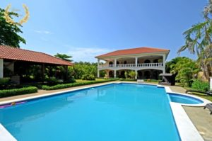 six bedroom beach villa rental