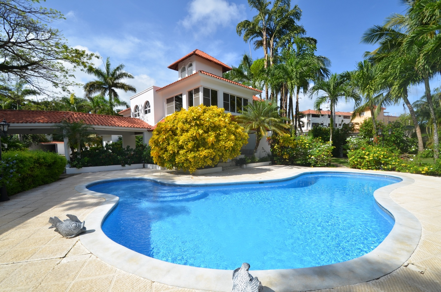 9 Bedroom Villa Rental Jacuzzi Private Pool Sosua