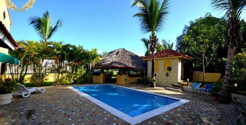 Sosua Beach House Rental With 3 Bedrooms
