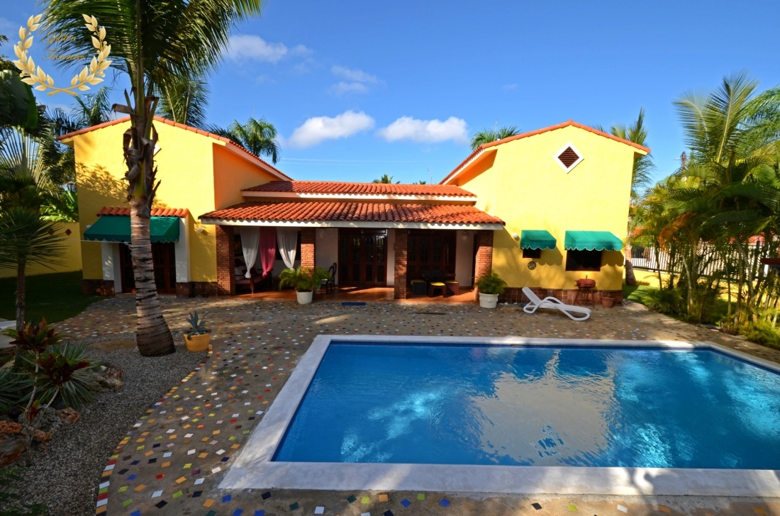 Sosua Beach House Rental With 3 Bedrooms
