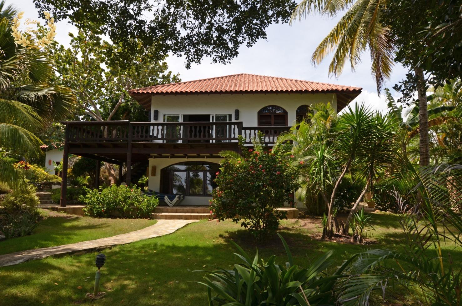 Cabarete Ocean Front Villa Rental