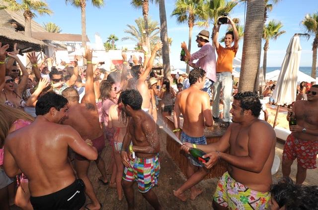 bachelor party in Sosua beach