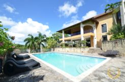 luxury villa pool with garden views in el choco Sosua