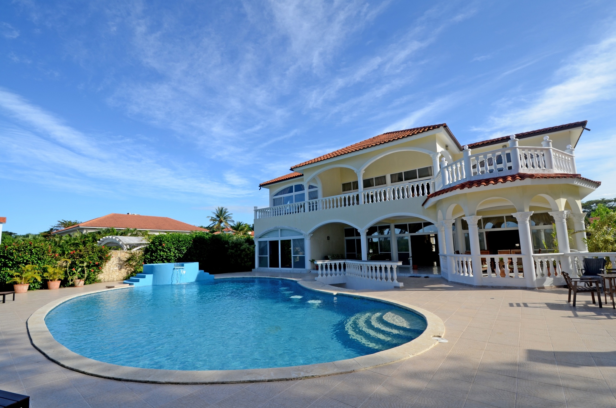 8-12 rooms Bachelor Party Beach Villa Rental in Sosua