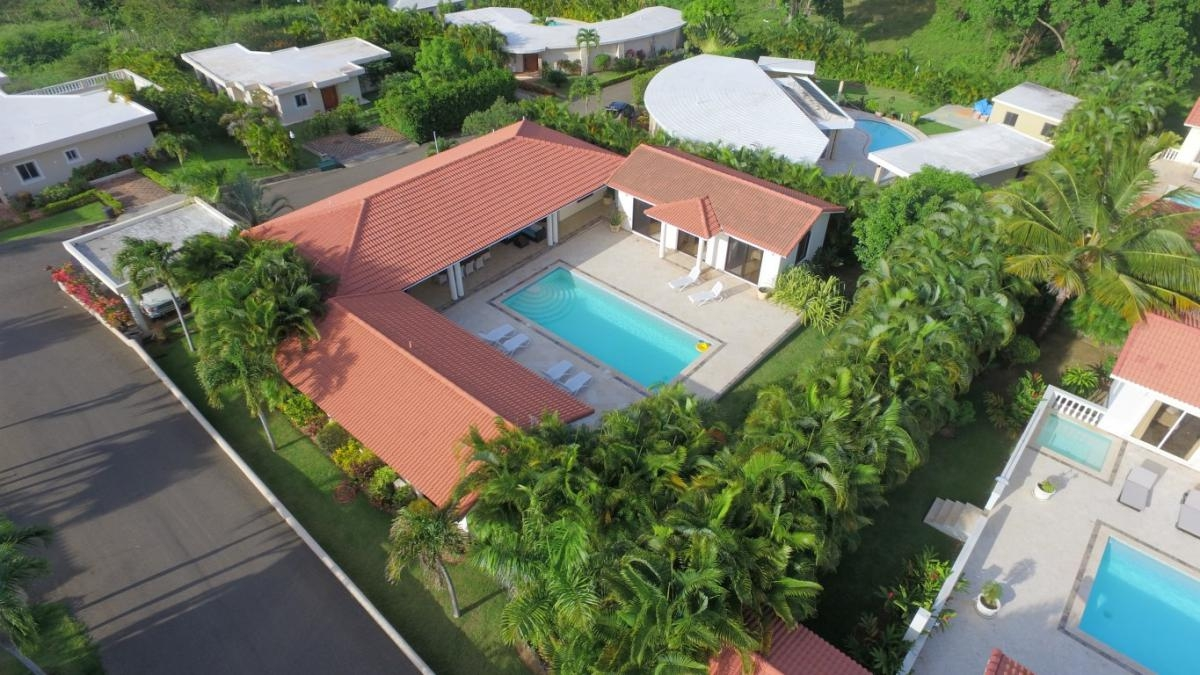 Caribbean Flair Villa Rental in Sosua DR