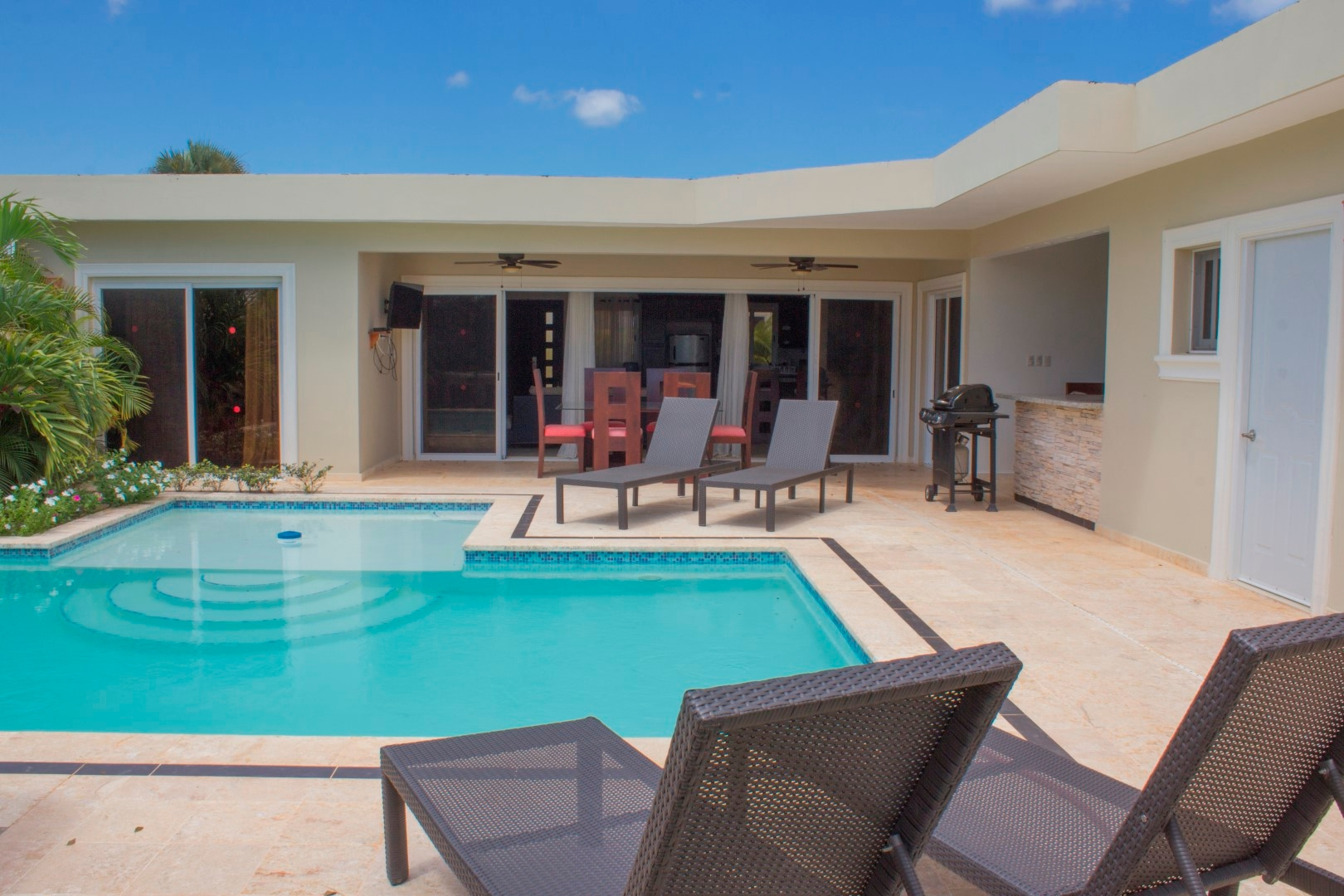 3 Bedroom vacation Villa in Sosua
