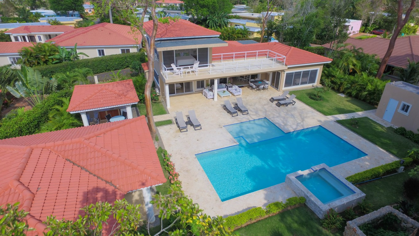 Two Level Villa Rental in Sosua – Gated Community Privacy