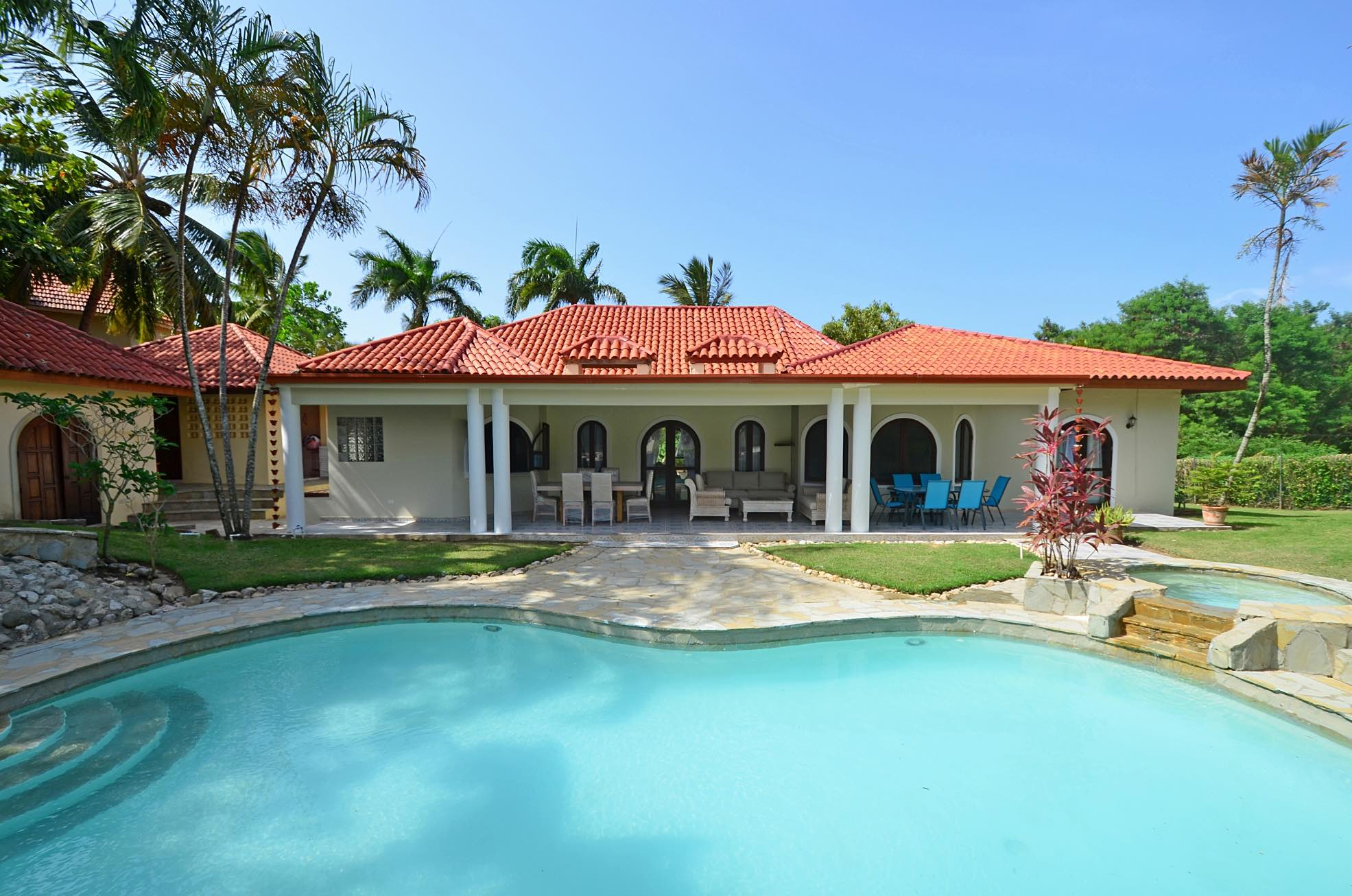 Guest Friendly Villa Rental in Sosua 7 Bedrooms