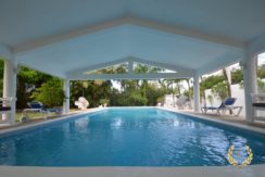 swimming pool perspective