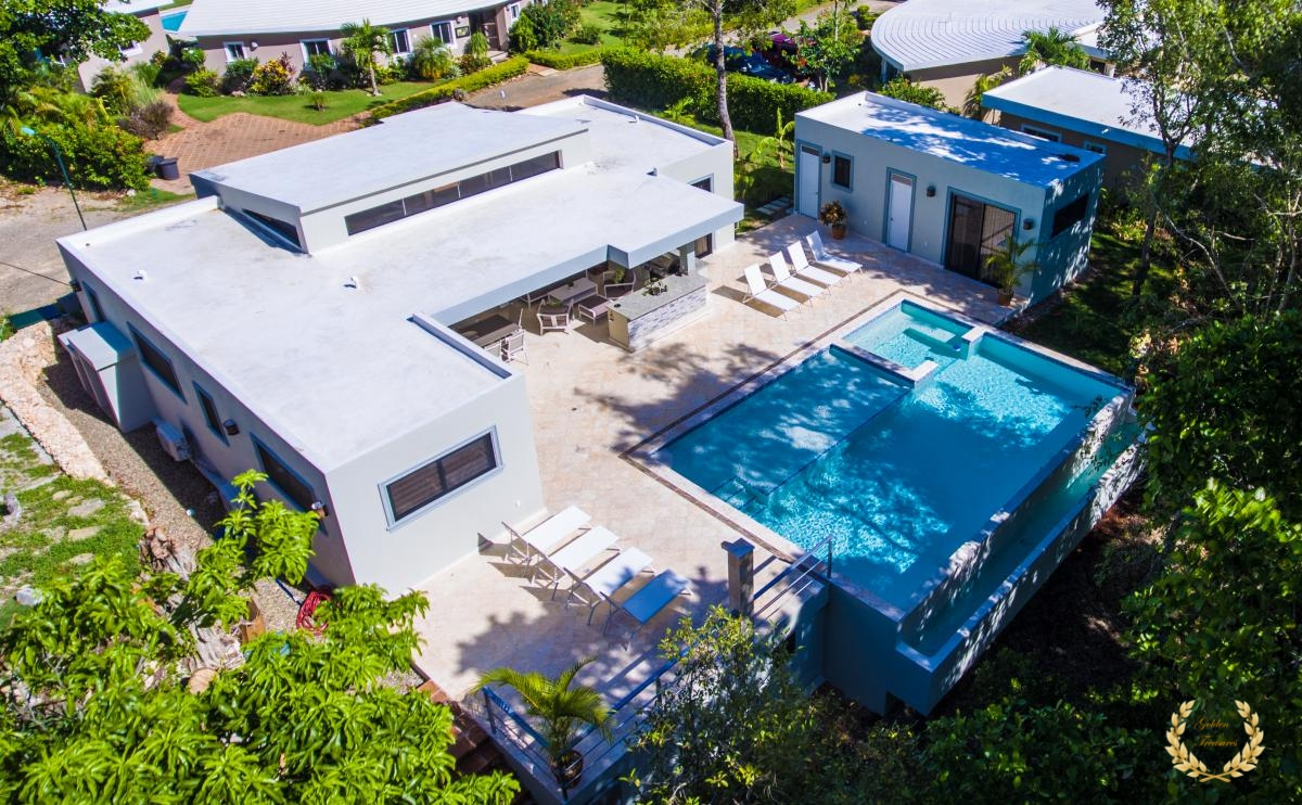 The 4 bedroom Mirabella villa in Sosua