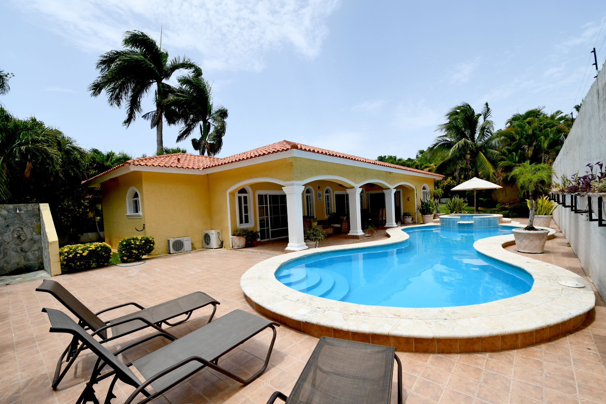 3 Bedroom Beach Access Villa Between Sosua and Cabarete