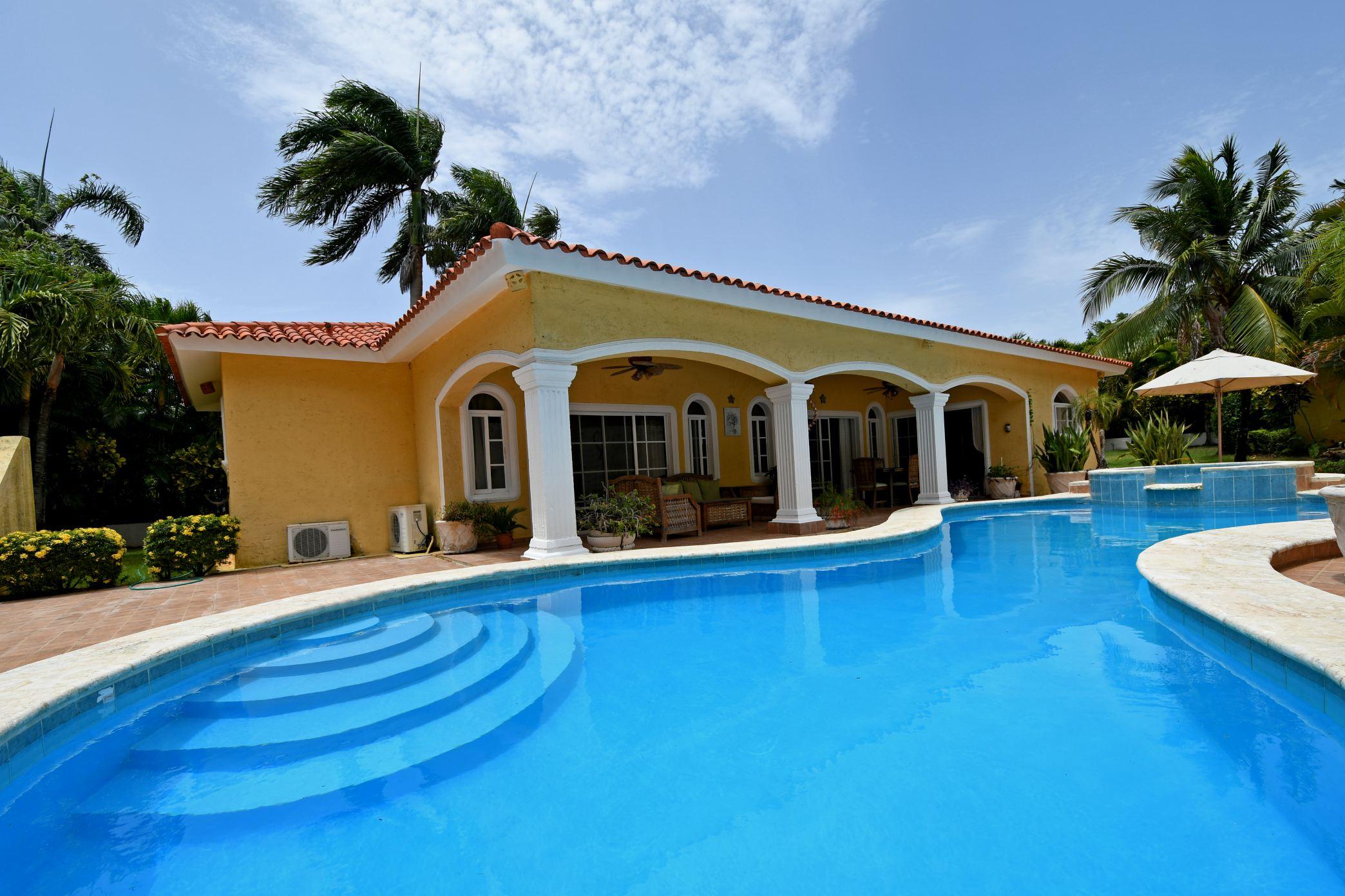 Villa de Renta Cerca de Playa Entre Sosua Cabarete