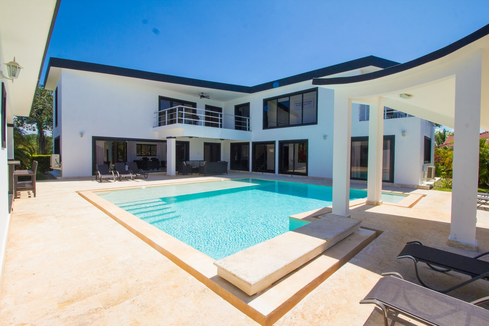4 Bedroom Contemporary Villa Rental Sosua