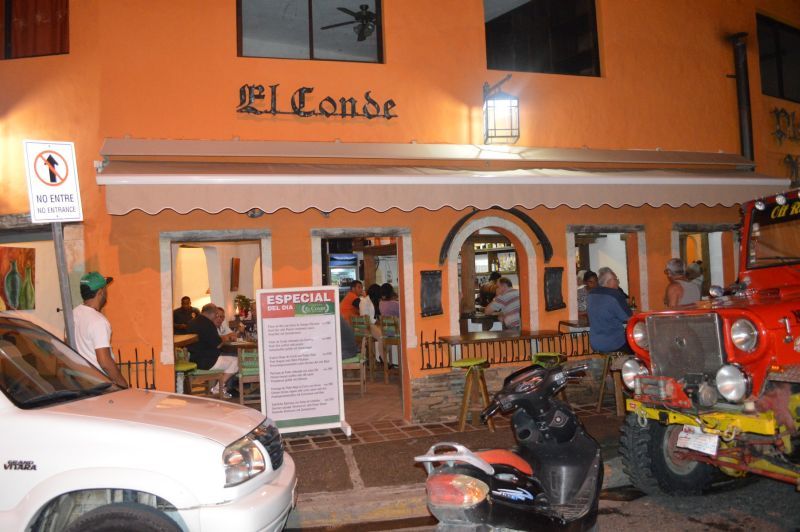 Taberna El Conde is a favorite in Sosua