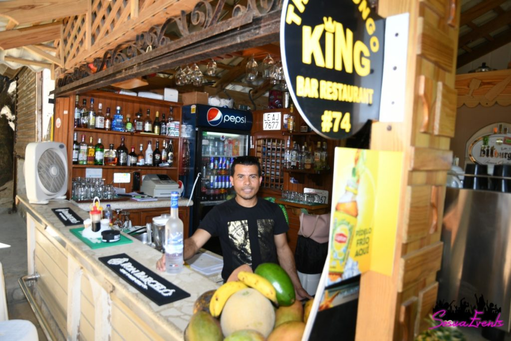 Mofongo King bar in Sosua