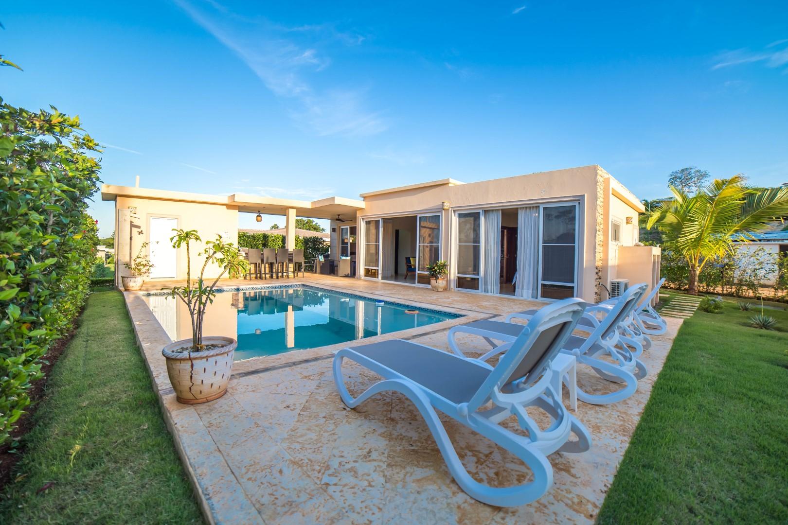 2 bedroom Charming Villa Sosua Rental Dominican