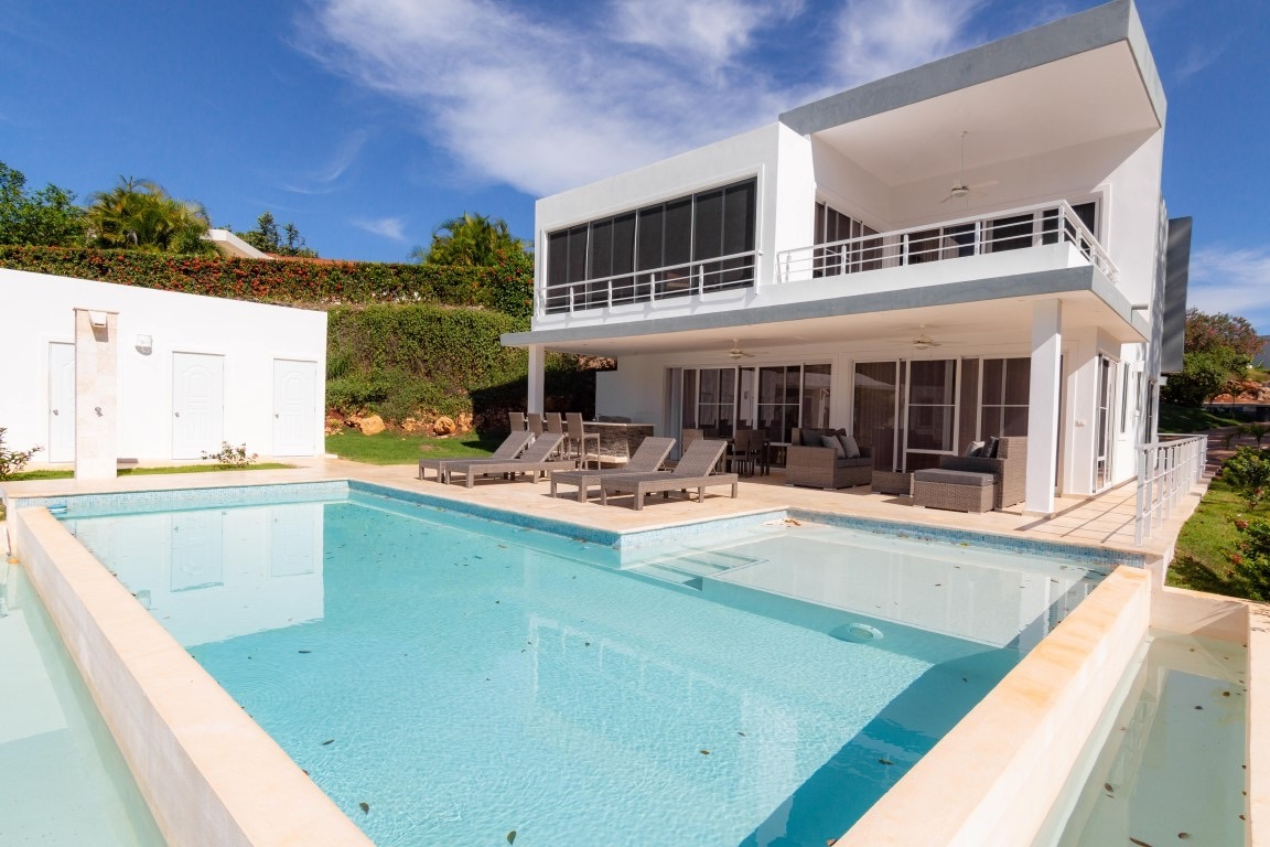 Contemporary Rental Villa Sosua 3 Bedrooms