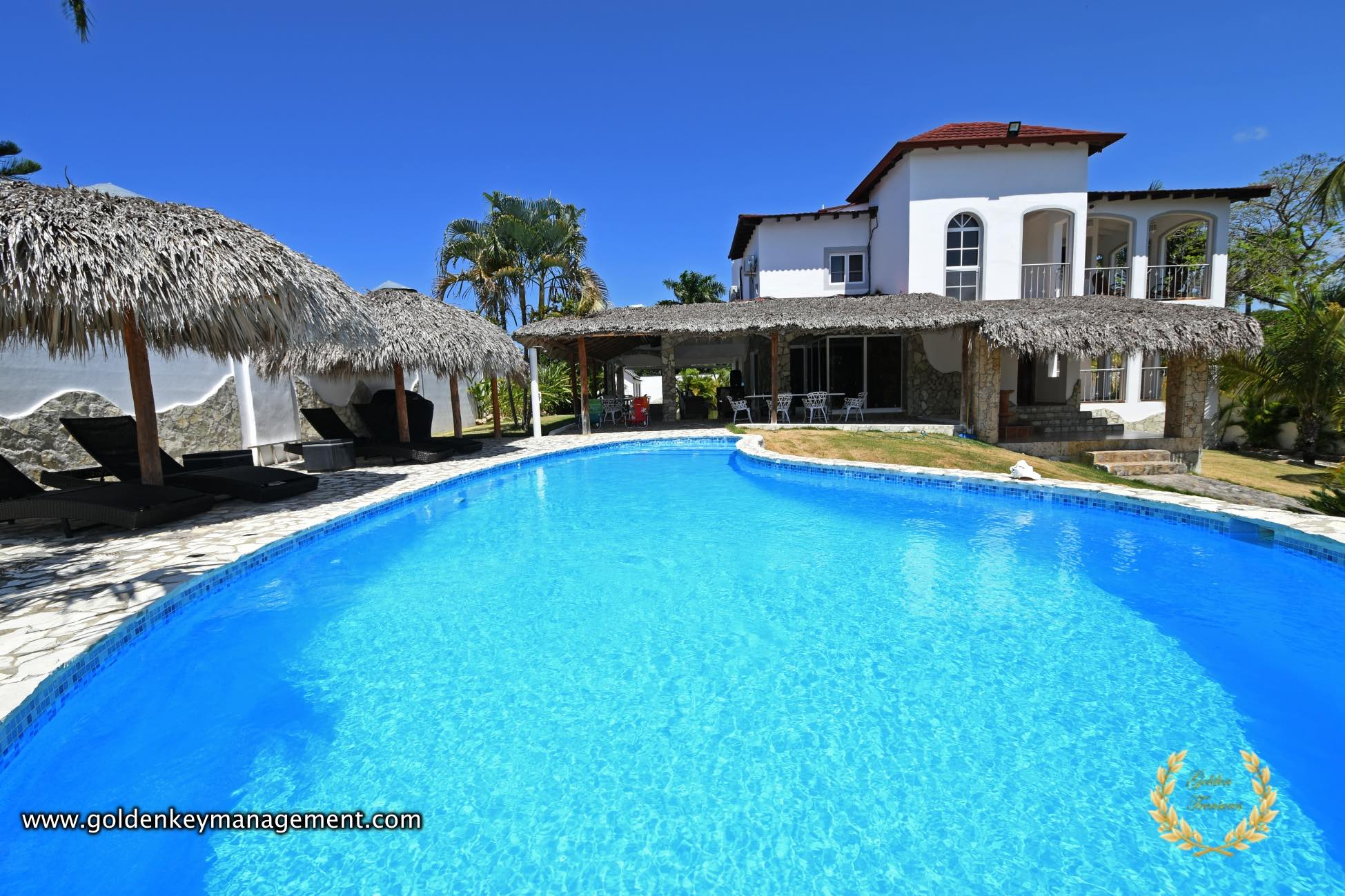 5 Bedroom Private Villa Rental Sosua